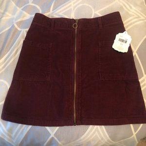 Corduroy Skirt- NWT